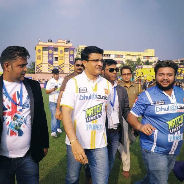 Sourav Ganguly at ASOS