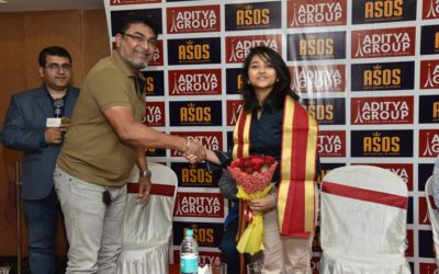 Felicitation of Mehuli Ghosh