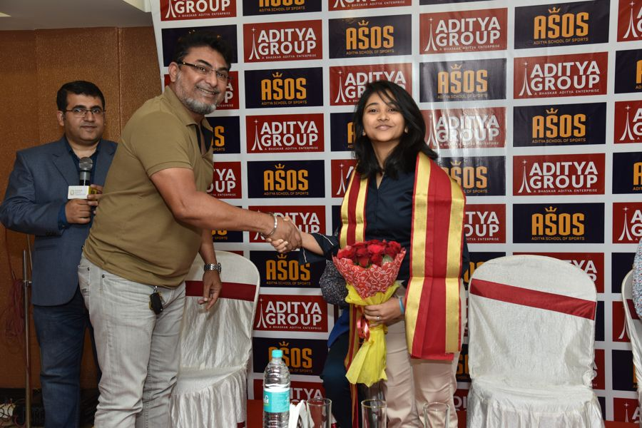 Felicitation of Mehuli Ghosh