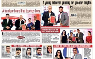 The Times Business Awards 2021 awarded Mr. Anirban Aditya, Chairman, Aditya Group as the Young Business Leader. Here are few moments from the event.